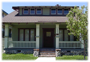 1913 Craftsman Bungalow after house preservation