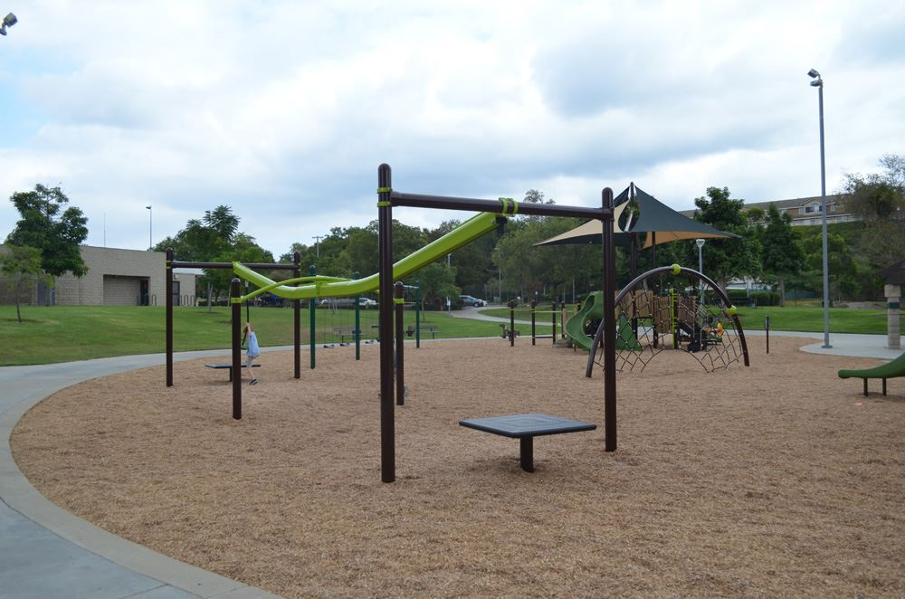 Image of Ronald Reagan Park's New Playground