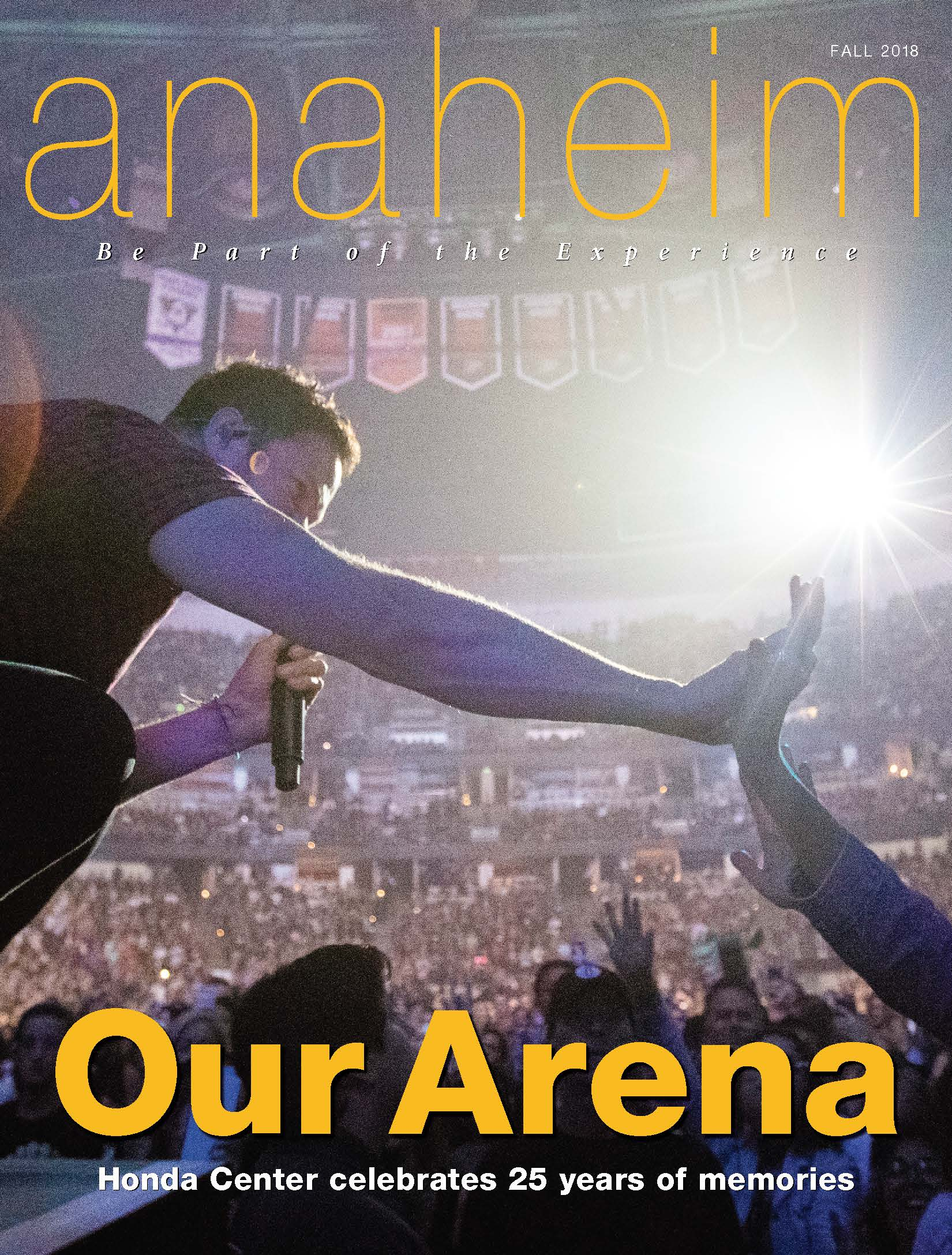 Anaheim Magazine Fall 2018 Cover