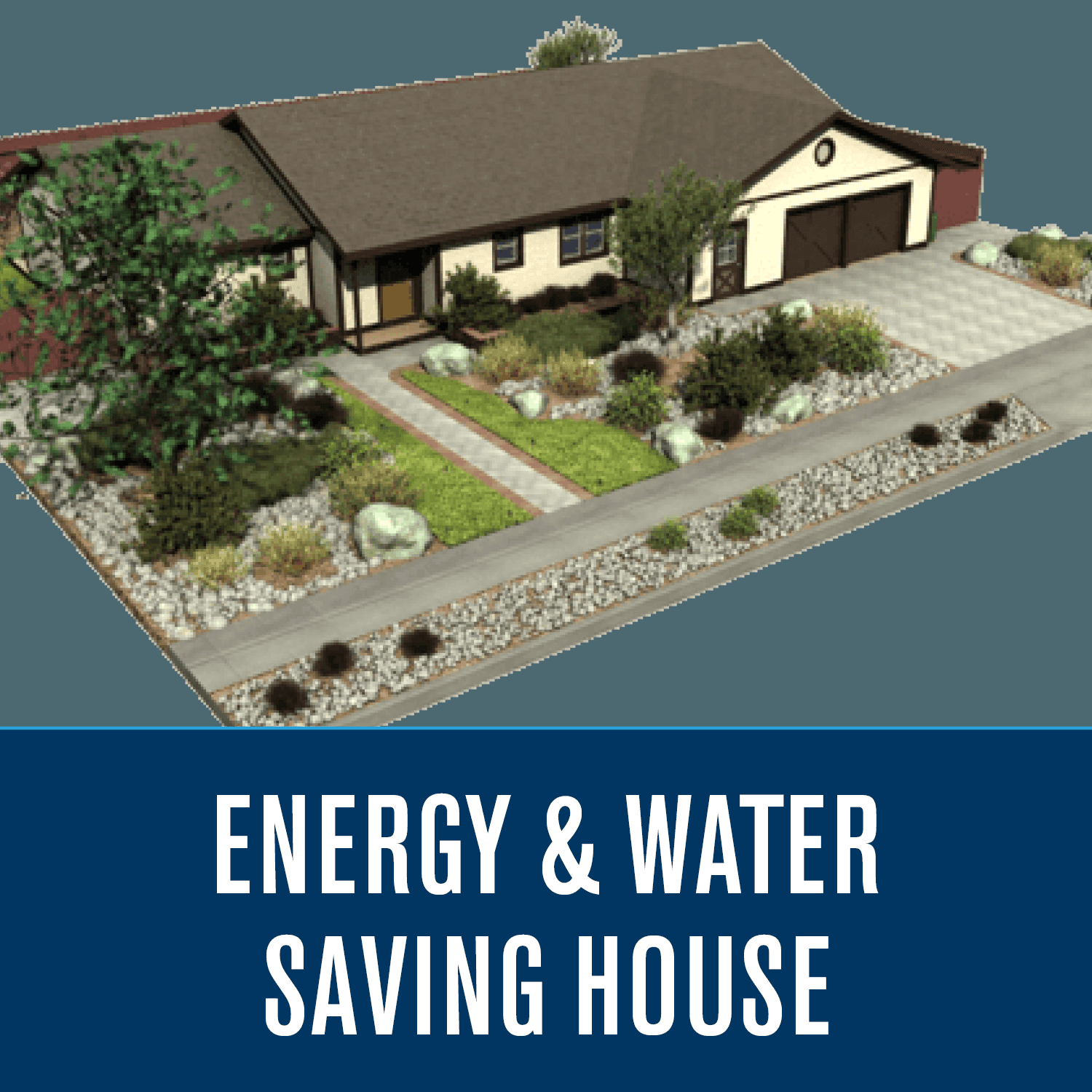 Energy Water Saving House