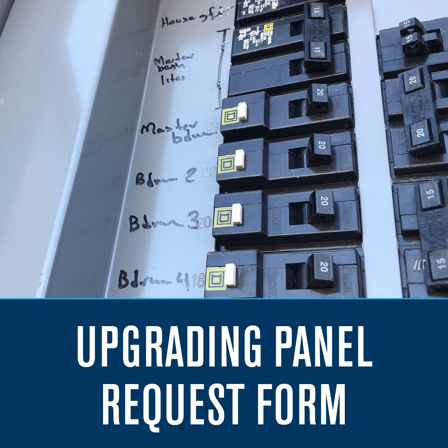 Upgrading Panel Request Form