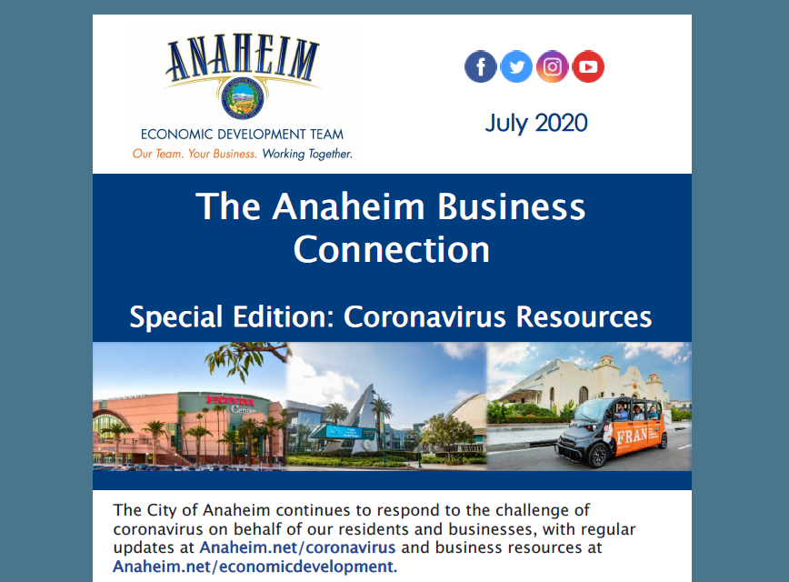 The Anaheim Business Connection - July 2020