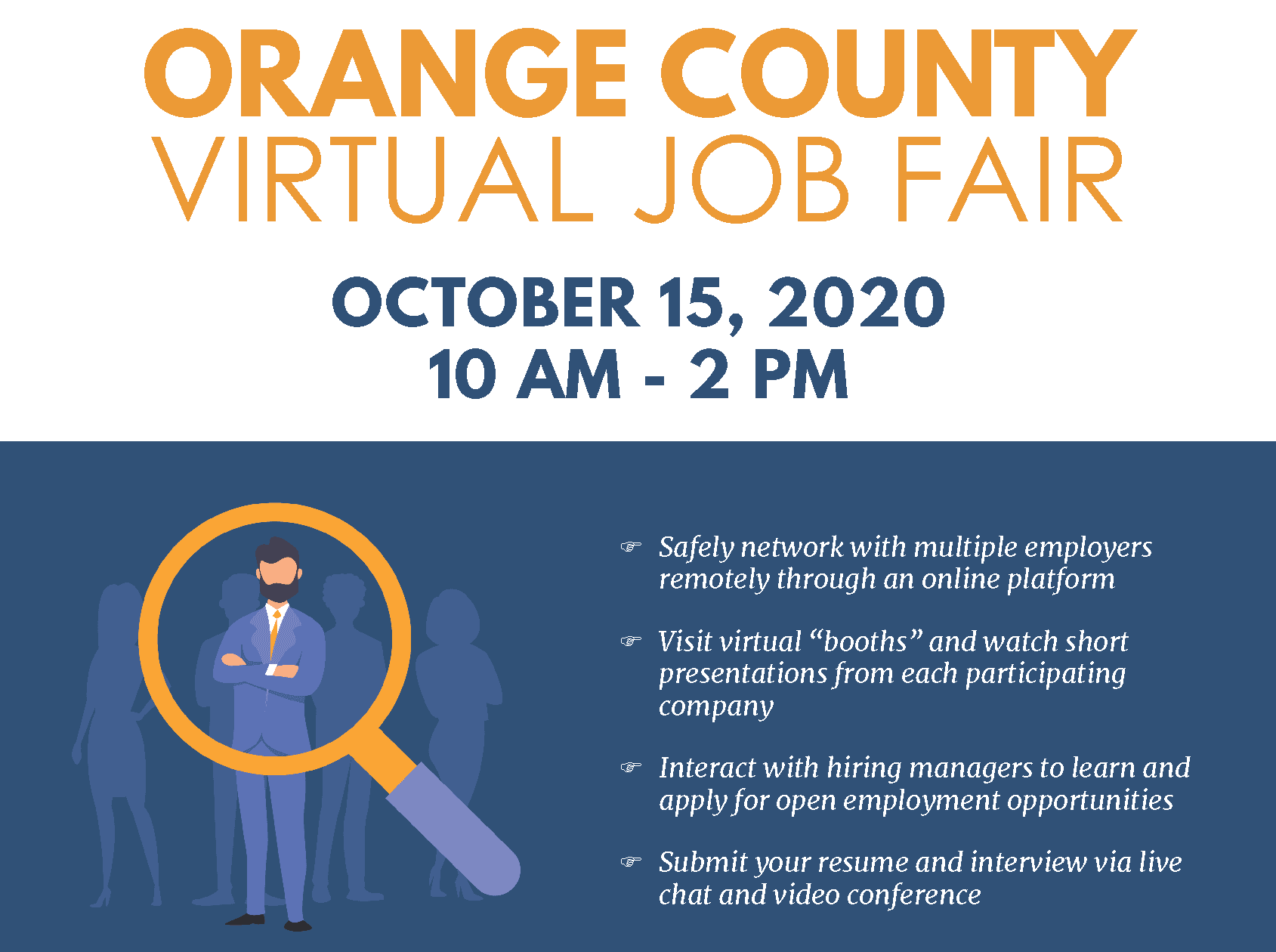 OC Job Fair 10-20 Job Seekers (2)