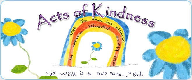 Act of Kindness Banner