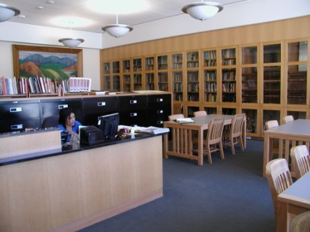 Heritage Center Reading Room