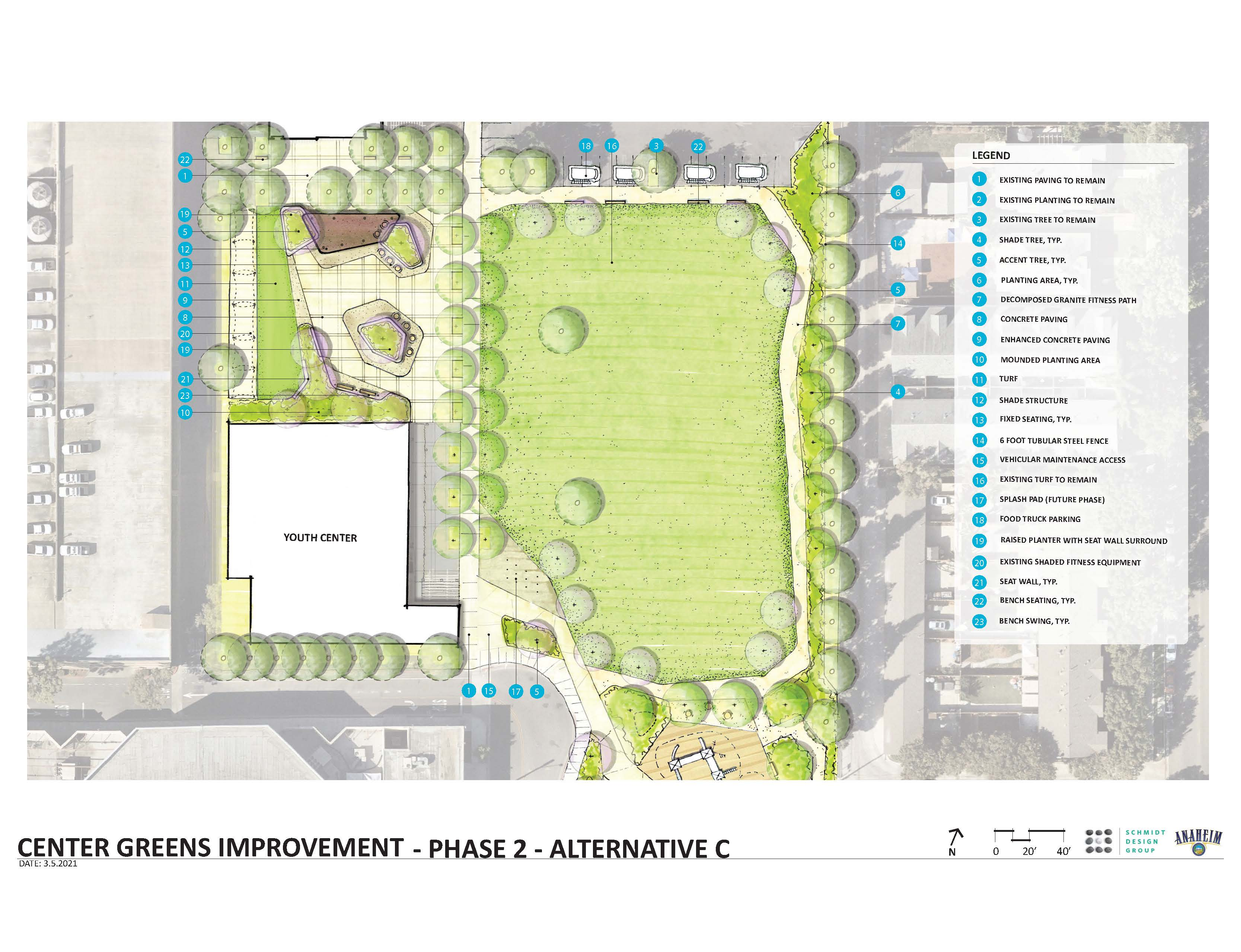Center Greens_SCHEMATIC C_final plaza design